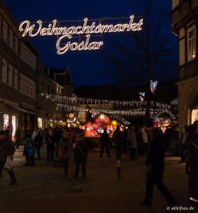 Weihnachstmarkt, Goslar, Deutschland. 28.12.2012 © by akkifoto.de