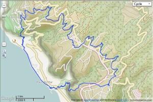 Trackmap der Rundtour