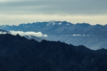 Blick vom Roys Peak auf die Barrier Range, New Zealand, 01.03.2005 © by akkifoto.de
