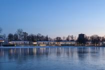 Strandbad Maschsee, Hannover, 13.01.2013 © by akkifoto.de