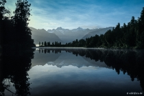 Lake Matheson (Mirror Lake), New Zealand, 04.03.2005 © by akkifoto.de