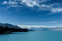 Lake Pukaki lookout & Mt. Cook, NZL, 21.05.2005 © by akkifoto.de