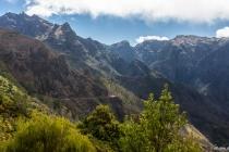 Blick von der Levada Do Norte zum Pico Grande, Madeira, 02.03.2013 © by akkifoto.de