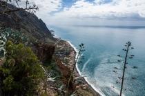 Blick zurück nach Paúl do Mar, Madeira, 2013 © by akkifoto.de