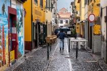 umbrella sunday I, Zona Velha, Funchal, Madeira, 02.03.2013 © by akkifoto.de