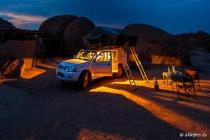 Campsite, Mowani Mountain Lodge, Kunene, 15.10.2013 © by akkifoto.de
