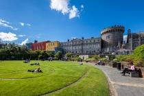 Dublin Castle & Dubhlinn Garden, Dublin, Irland, 16.07.2014 © by akkifoto.de