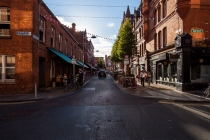 Sunset light, Fade Street , Dublin, Irland, 16.07.2014 © by akkifoto.de
