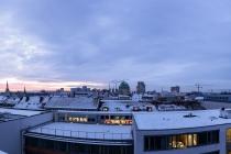 Skyline Panorama, Hannover, Deutschland, 19.01.2016 © by akkifoto.de