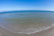 Karibik - Ostsee, Strandpromenade Binz, Deutschland, 26.03.2016 © by akkifoto.de