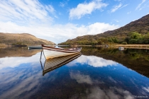 Boats on the Upper Lake, Killarney-Nationalpark, County Kerry, 15.10.2014 © by akkifoto.de