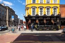 Pub at Aungier Street, Dublin, 15.10.2014 © by akkifoto.de