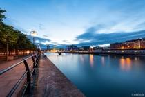 Liffey, City Quay, Dublin, 15.07.2014 © by akkifoto.de