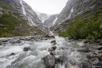 Kjenndal Gletscher (Kjenndalsbreen), Norwegen, 30.06.2019 © by akkifoto.de