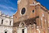 Basilica dei Santi Giovanni e Paolo, Venedig, Italien, 07.04.2019 © by akkifoto.de