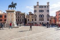Campo San Giovanni e Paolo, Venedig, Italien, 07.04.2019 © by akkifoto.de