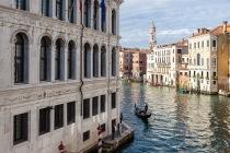 Palazzo dei Camerlenghi am Canal Grande, Venedig, Italien, 07.04.2019 © by akkifoto.de