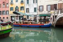 Markt a la Venedig, Venedig, Italien, 08.04.2019 © by akkifoto.de