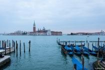 Isola di San Giorgio Maggiore, Venedig, Italien, 09.04.2019 © by akkifoto.de
