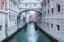 Ponte dei Sospiri (Seufzerbrücke), Venedig, Italien, 09.04.2019 © by akkifoto.de