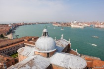 Canale della Giudecca, San Giorgio Maggiore, Venedig, Italien, 10.04.2019 © by akkifoto.de