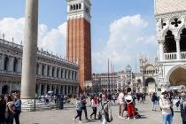 Piazza San Marco, Venedig, Italien, 10.04.2019 © by akkifoto.de