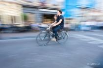 ride at the Prinsengracht, Amsterdam, Nederland  © by akkifoto