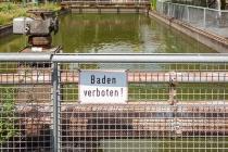 Wasserbecken, Kokerei Hansa, Dortmund, Deutschland, 26.06.2021 © by akkifoto.de